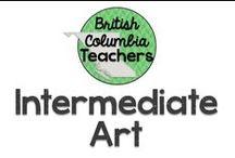 Intermediate Art / Visual art ideas for the intermediate classroom.