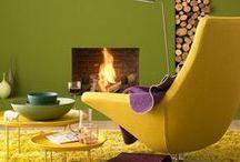 Intérieurs et décors / Décors inspirants. Inspiring room.