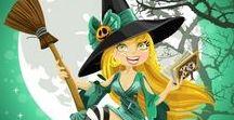 Halloween / Portadas y carteles, tarjetitas para la celebración de Halloween