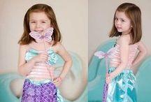 Zeemeerminnen jurken