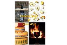 Wines & cheeses (Wijn & kaas) / kaas en wijn