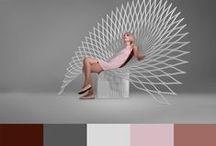 Palettes de couleurs - Color palettes / Ma collection de palette de couleurs.  My collection of color palettes.