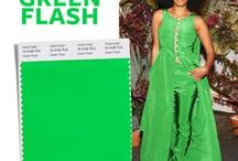 Spring Color Trend: Green Flash