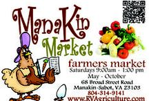 Manakin Market Farmers Market / We are a large, outdoor, seasonal farmers market located at 68 Broad Street Road in Manakin-Sabot, Virginia..just 5 minutes west of Short Pump.  Over 50 vendors to choose from... Free kid's activities, prepared foods and special events every week.  Fun for the whole family!  For more information on Manakin Market, please visit www.RVAgriculture.org.  The market was taken over in 2015 by RVAg, Inc., a non-profit 501(c)(3) (status pending).
