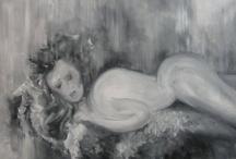 Anette (Ona II) / Anette (Ona II), olej na płótnie, 38 x 55cm, 2005.02.15