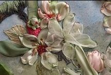 Silk Ribbon, Embroidery & Tapestries