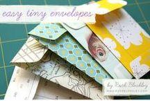 Paper crafts & Origami / Riciclo carta e confezioni di cartone. Tutorial & links