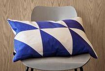 ✔ ferm Living / #Ferm #living #Coussin #Pillow #Cushion #Design #triangle #original #fermliving #bird