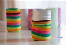 Plastic crafts / Nuova vita alla plastica!