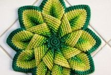 Crochet Potholders and Dishcloths / by Helen Conachan