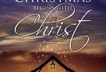 Celebrating Christmas ( The Birth of Christ) / Christmas decor / by Debra Elwell