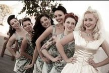 Wedding-FOR THE GIRLS / Ideas for my Bridesmaids (and flower girl) dresses, bridal/bachelorette parties / by Angela Rivera