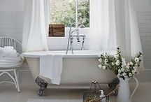 Bathrooms / DIY & Decor Ideas / by Gina Pelling