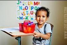 Tot School / Toddler Activities/ [Home] Preschool / by Joleen Pete