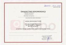 Rekomendacje / Rekomendacje Firmy Lobo www.lobo.com.pl