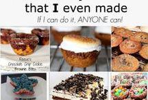 Rezepte: Süßes / Süßkram wie Cookies, Kuchen etc