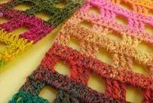 bufandas y chales de ganchillo / by roser lamesa andreu
