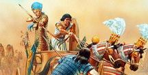 Ancient Egyptian Army (Old, Middle and New Kingdom) / Soldiers, officers, weapons and all things associated with the military of the three kingdoms of Ancient Egypt.