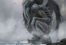 Mythos Creatures, by H.P. Lovecraft