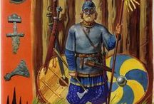 Vikings / Warriors and their Armament from the wider group characterised conveniently as 'Vikings'. Timeframe is ~8th-11th cent. AD.