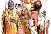 Medieval Arab/Saracen warriors