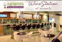 WineStation at Airports! / Travelers rejoice! Turn that long wait or screaming baby into a decadent glass of wine! The WineStation can be found in airports nationwide serving wines by the taste, half and full glass!