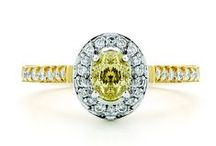 Coloured Diamond Jewellery / Explore beautiful yellow and chocolate diamonds by York Jewellers.