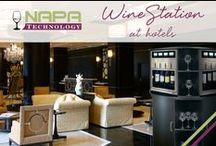 WineStation in Hotels / WineStation installations in hotels nationwide. #winestation #hotels