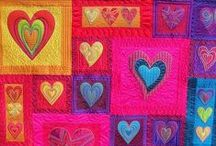 Art Quilts and Rainbows
