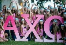 Letters that Tie Us Together / alpha chi omega letters!