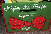 AXO loves DIY / all things alpha chi DIY and crafts