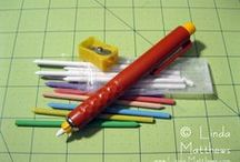 Toot toot for longarmers / Tutorials, rulers and ideas for longarmers