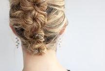 hair saç örgü / Hair style plate wedding