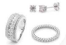 Diamond Jewellery / Stunning diamond jewellery from York Jewellers.