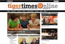 Homepage Design Ideas for SNO FLEX Sites / A collection of homepage design ideas that can be created using the SNO FLEX theme for WordPress from SNO Sites, a company that specializes in creating, hosting, and supporting websites for scholastic journalism programs. Learn more about School Newspapers Online at snosites.com.