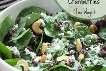 Recipes- Side dishes-veg & salads