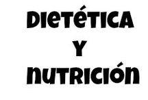 Dietética y Nutrición / Infografías sobre alimentación, dietética y nutrición
