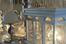 Decorating with lanterns,candles & birdcages