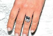 Celebrity Engagement Rings / Those coveted celeb engagement rings that you want to see a close up of!