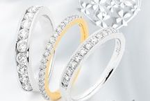 Wedding Rings / York Jewellers diamond wedding rings, available in store now.