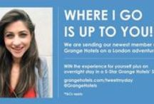 #TweetMyDay / WIN the ultimate day out in London plus an overnight stay in one of our 5-Star luxury Suites with our #TweetMyDay adventure! We're sending our newest member, Martina, out to explore some of the top attractions in the capital on the Thursday 3rd September. Where she goes is up to you! Cast your vote here: http://www.grangehotels.com/tweetmyday