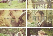 All things Jane / Jane Austen: quotes, films, maps & more!