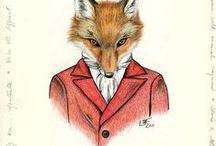 Thef Fantastic Mister Fox / rókák