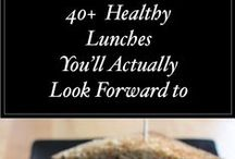 Healthy & Light Lunches ( for on-the-go or home.)