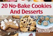 Recipes- No Bake desserts