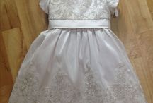 Christening Gown / Why not have your wedding dress made into a christening gown and create an heirloom.