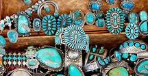 Jewelry / For girls that love turquoise, vintage jewelry, layering bangles and leather + keeping it real. Our insp pics for jewelry, our style + your way. #3BN