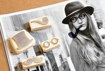 stamp & DIY / stamp, tampons, inspiration, carved rubber stamp