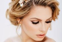 Blushing Bride / Wedding hair and makeup ideas to inspire your wedding beauty look.