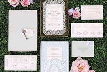 Stationery Suites / From RSVPs to Place Cards and Calligraphy we've got you covered for your wedding day stationary inspo!
